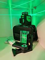 ☀GREEN⇒50м☀Профессиональный лазерный уровень Sndway SW-333G ➤кронштейн в подарок➤  ⏏micro USB - гарантия ГОД