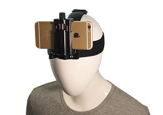 Крепление на голову для экшн-камеры и для мобильного телефона