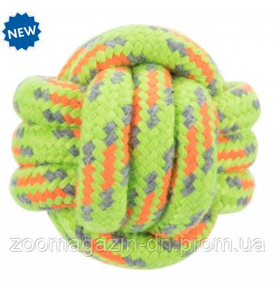 Веревочный мяч, игрушка для собак, Trixie,  9см