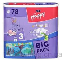 Подгузники детские Bella Baby Happy Midi 5-9 кг 78 шт (5900516602352)