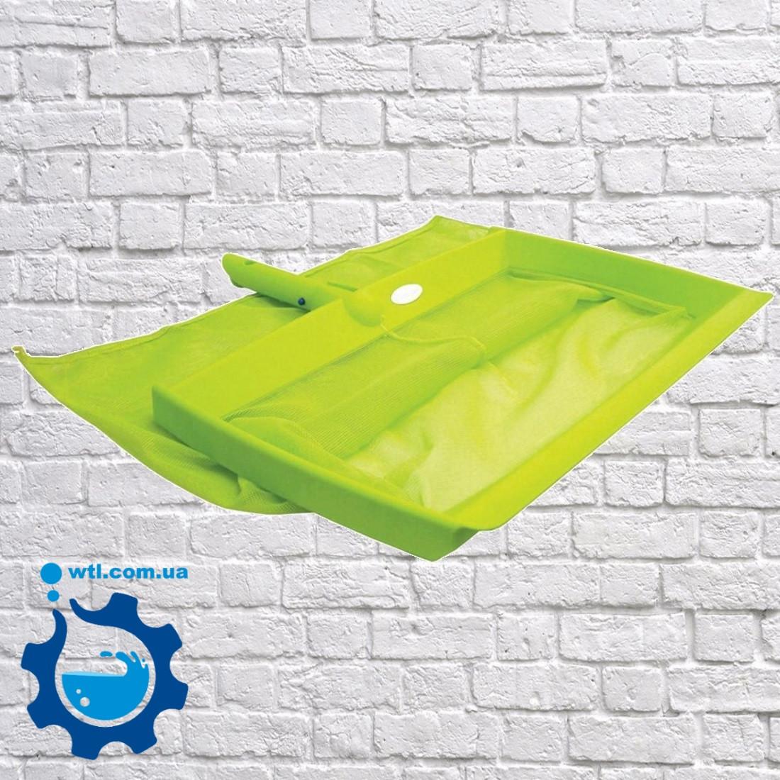 Сачок для бассейна (насадка). Сачок для дна Kokido Design-O K414BU. Аксессуары для чистки бассейна, сачки