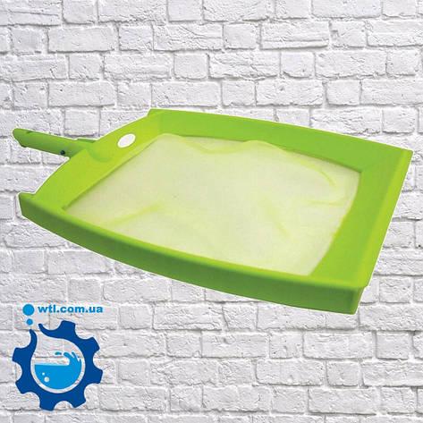Сачок для бассейна (насадка). Сачок для поверхности Kokido Design-O K413BU. Аксессуары для чистки бассейна, фото 2