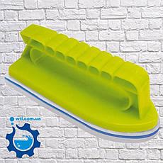 """Щётка для бассейна. Щётка для ватерлинии бассейна с губкой Kokido """"Magic Foam"""" K076BL, фото 2"""
