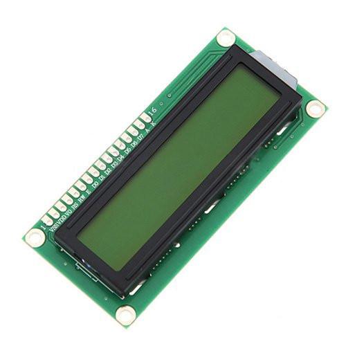 LCD 1602 РКІ дисплей, зелений