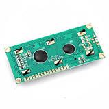 LCD 1602 РКІ дисплей, зелений, фото 2