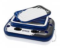 Термо-резервуар для напитков плавучий Intex надувной минибар для бассейнов 58821 KK