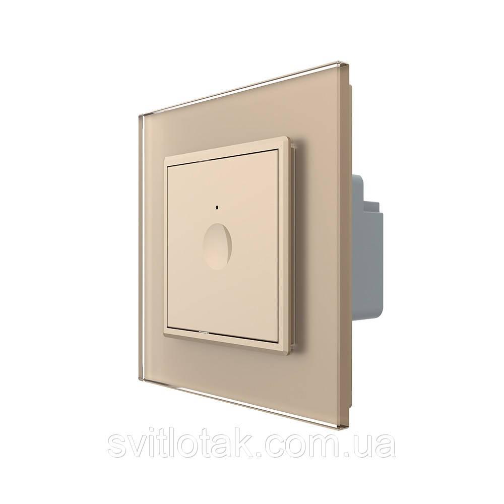 Сенсорный выключатель Livolo Sense золотой (722000113)