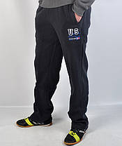 Штаны спортивные тёплые байковые, фото 3