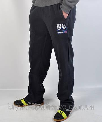 Штаны спортивные тёплые байковые, фото 2