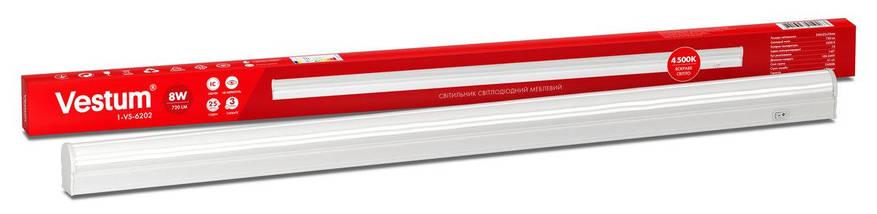 Светильник  LED мебельный Vestum 8W   4500K 220V, фото 2