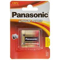 Батарейка PANASONIC CR P2 * 1 LITHIUM (CR-P2L/1BP)