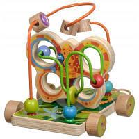 Развивающая игрушка Мир деревянных игрушек Лабиринт Бабочка малая (Д116)