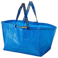 IKEA FRAKTA (172.283.40) Господарська сумка, велика, синій 71 л