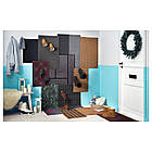 IKEA KRISTRUP (903.924.52) Придверный коврик, темно-синий, фото 9