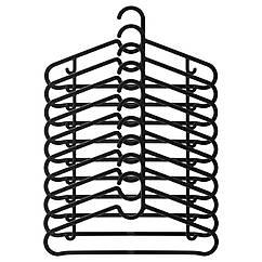 IKEA SPRUTTIG (203.170.79) Вішак, чорний