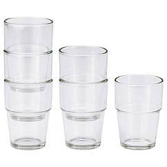 IKEA REKO (800.940.14) Склянка, прозоре скло 17 сл