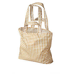 IKEA SKYNKE (104.328.38) Господарська сумка, жовтий/білий
