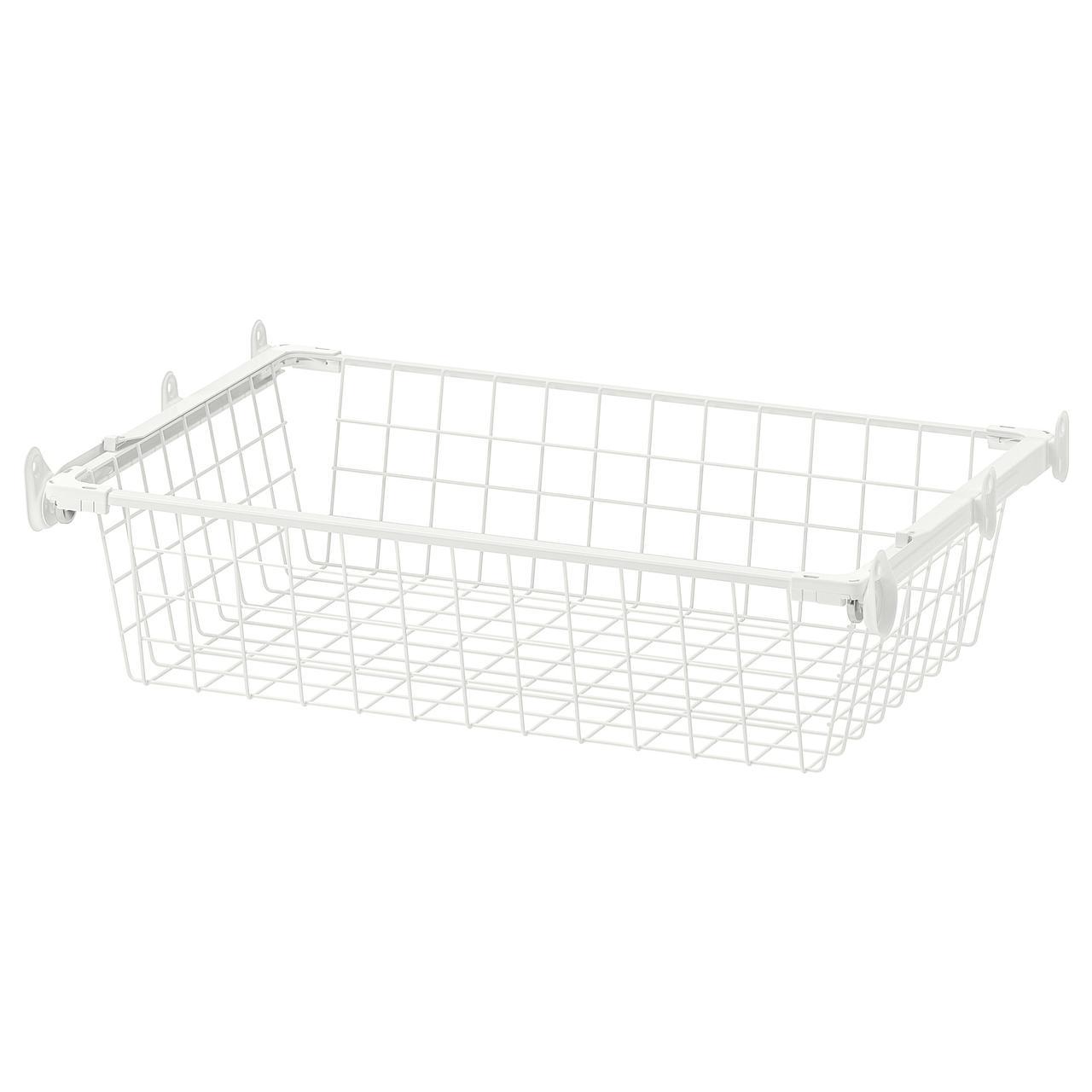 IKEA HJÄLPA ( 592.134.67) Дротяний кошик із напрямною рейкою 60x40 см