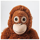 IKEA DJUNGELSKOG (004.028.08) Іграшка м'яка, орангутанг, фото 3