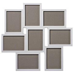 IKEA VAXBO (402.566.21) Рамка для колажу на 8 фотографій 13x18 см