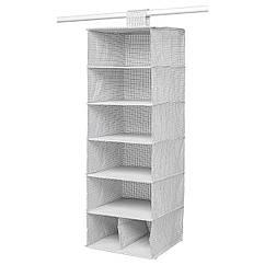 IKEA STUK (703.708.56) Модуль для зберіг із 7 відділеннями 30x30x90 см