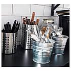 IKEA ORDNING (300.118.32) Сушарка для столових приладів, нержавіюча сталь, фото 4