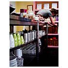 IKEA ORDNING (300.118.32) Сушарка для столових приладів, нержавіюча сталь, фото 5