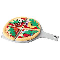 IKEA  DUKTIG ( 104.235.94) Набір для піци з 24 предметів, піца/різнобарвний