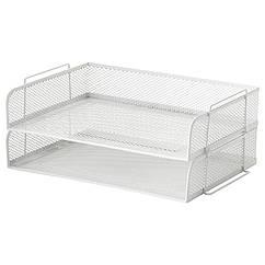 IKEA  DRÖNJÖNS (104.287.18) Лоток для корреспонденції, білий