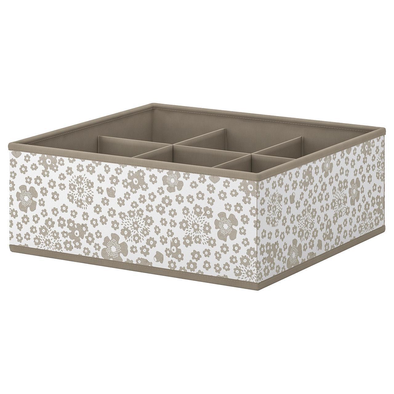 IKEA STORSTABBE (604.261.75) Коробка з відділеннями 37x40x15 см