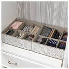 IKEA STORSTABBE (604.261.75) Коробка з відділеннями 37x40x15 см, фото 2