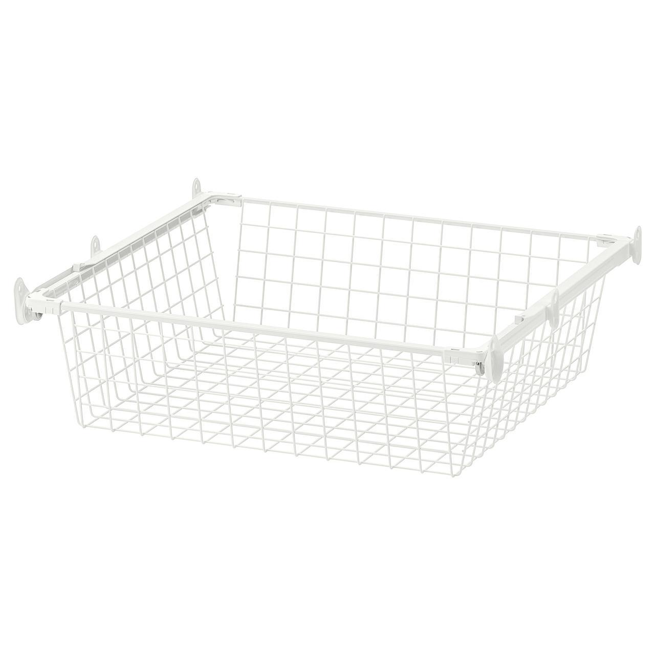 IKEA HJÄLPA ( 292.134.64) Дротяний кошик із напрямною рейкою 60x55 см
