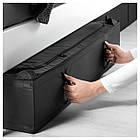 IKEA SKUBB (402.903.66) Контейнер для одягу/постільних речей, чорний, фото 3