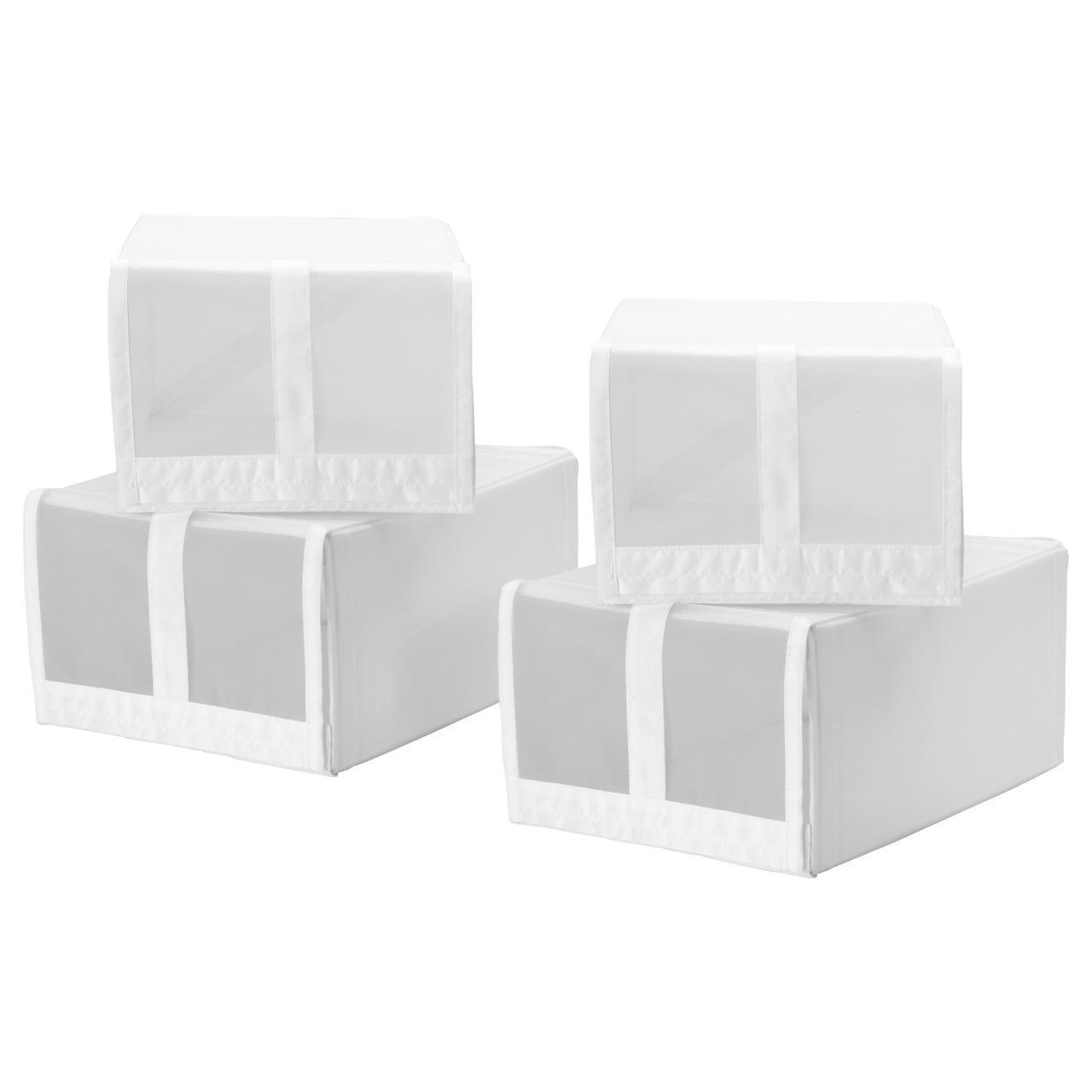 IKEA SKUBB (901.863.91) Коробка для обуви, белая