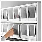 IKEA SKUBB (901.863.91) Коробка для обуви, белая, фото 2