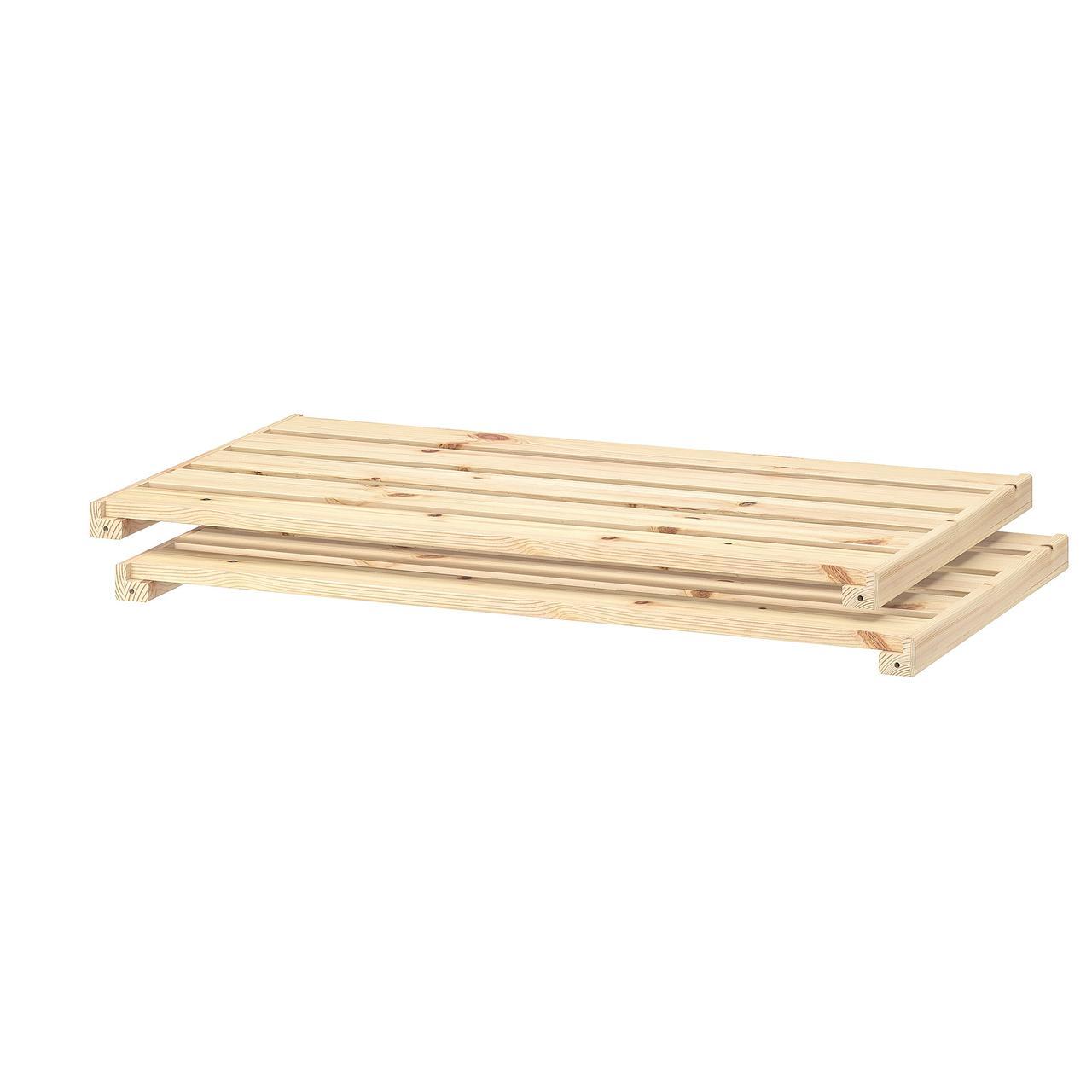 IKEA  HEJNE (802.878.09) Полиця 77x47 см 2 штук