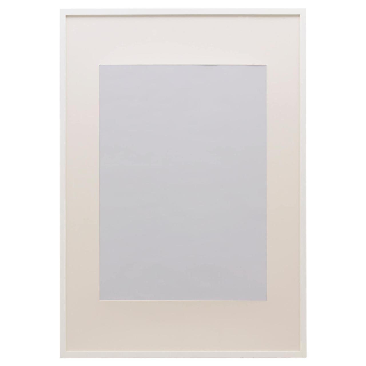 IKEA RIBBA (002.688.76) Рамка, білий 50x70 см