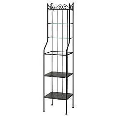 IKEA RONNSKAR (900.937.64) Шкаф, черный