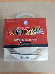 Лески флюорокарбоновые 25м 0,14Dr.Agon