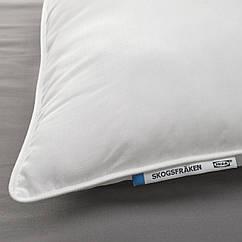 IKEA SKOGSFRÄKEN (504.605.27) Подушка, висока д/сну на боці/спині 50x60 см