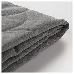 IKEA NYHAMN (103.415.98) Чохол 3-місного дивана-ліжка, КНІСА сірий/бежевий