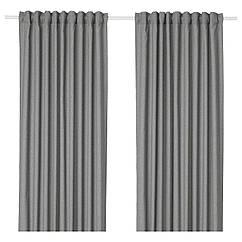 IKEA HANNALENA (504.108.77) Світлонепроникні штори, пара 145x300 см