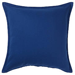 IKEA GURLI ( 004.262.01) Чохол для подушки , темно-синій 50x50 см