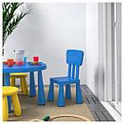IKEA MAMMUT (603.653.46) Дитячий стілець, фото 2