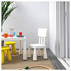 IKEA MAMMUT (403.653.71) Дитячий стілець, фото 2