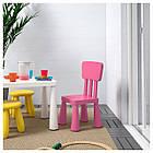 IKEA MAMMUT (803.823.21) Дитячий стілець, фото 2
