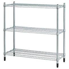 IKEA OMAR (100.697.63) Стелаж, гальванізований 92x36x94 см