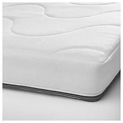 IKEA KRUMMELUR (003.210.15) Матрац із пінополіур ліжко для немовля 60x120x8 см
