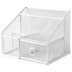 IKEA DRÖNJÖNS ( 004.288.27) Підставка для канцелярськ приладдя, білий 25x20 см