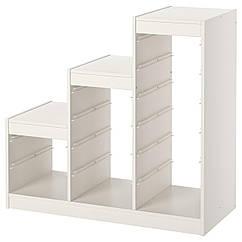 IKEA TROFAST (100.914.53)  Каркас, білий 99x44x94 см